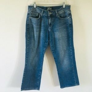 Lucky Brand Classic Rider Crop Jeans 6